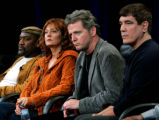 CARS103 - From left, actors Delroy Lindo, Susan Sarandon and Aidan Quinn, who all portrayed...