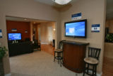 This is the inside of a house built by Hewlett-Packard and Lifeware that shows the rebirth of...