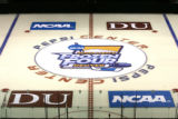 The Frozen Four logo was unveiled on at the Pepsi center as University of Denver and Pepsi Center...