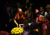 MJM2398 Nobel Peace Laureate, the Dalai Lama holds a special audience with local chinese and...