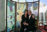 Lynn Heitler and Philip Levy are launching their new business, Art Partitions Inc., a line of...