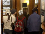(Denver,Colo., November 19, 2004)  Columbus Day protesters packed Denver County Court on Friday...