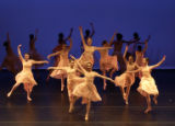 (DENVER, CO. NOVEMBER 19, 2004) Dance majors at the Denver School of the Arts perform selections...