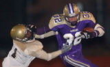[(Fort Collins, CO, Shot on: 11/19/04)] Fort Collins Brett Prior runs past Thomas Jefferson's Iman...