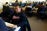 (DENVER, Colo., Dec. 7, 2004) At the Workforce Development Center of the City and County of...