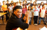 (DENVER, Colo., Dec. 3, 2004) Daniel Valdez has composed an oratorio commemorating the Auraria...