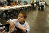 (11/25/04, DENVER, CO) The Salvation Army served up their annual Thanksgiving Day Dinner in the...