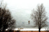 ( Douglas County, Colo., January 11, 2004) Heavy fog  moved into the Denver metro area Monday...