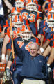 (EL PASO TIMES FILE PHOTO) University of Texas-El Paso head coach Mike Price lead his Miner team...