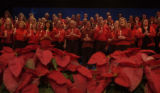 (ARVADA, Colo., December 2, 2004) The choir sang together several times for filming purposes, the...