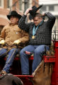 (DENVER, Co. - Shot 1/11/2005) The 2005 National Western Stock Show Kickoff Parade made its way...