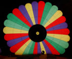 (STEAMBOAT SPRINGS Colo., January 19, 2005) Mike Fosdick works from inside a hot air balloon...