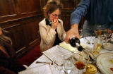 (DENVER, Co., SHOT 10/22/2004) Rioja co-owner and general manager Beth Gruitch pauses while taking...