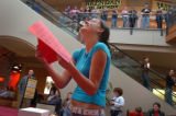 (11/26/04,BROOMFIELD, CO)  People competed in a Christmas present competition at Flatiron Crossing...