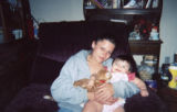 Catrina Powell, 25, holding her neice, Selena Powell (10 months old), in July 2004. Catrina Powell...
