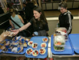 In Longmont, Colo. on 5/4/06 at Longmont High School students have the cafeteria of the future,...