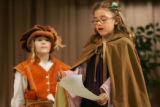 EJ599   This year's annual DPS Shakespeare Festival participants from Southmoor Elementary. (ELLEN...