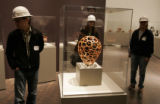 The Denver Art Museum held a media tour of the new Frederic C. Hamilton Building designed by...