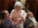 (DENVER, COLORADO, 01/27/05)  Senate Bill 22 hearing in the Old Supreme Courtroom. The bill,...