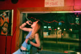 "Alexandra Lemay (cq), 25, of Denver performs ""What's Up?"" by 4 Non Blonds on the main..."