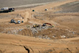 Denver police are search Tuesday Apr. 4, 2006 at the landfill Buffalo Ridge landfill, Keenseburg,...