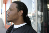 Gil Gordon (cq) a barber on East Colfax , says Wednesday afternoon April 26, 2006, that he...