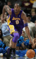 JPM844  Los Angeles Lakers Kobe Bryant against the Denver Nuggets at the Pepsi Center in Denver on...