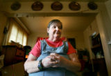 Portrait of Lee Zuberer (cq), 65, at her home in Denver, Colo., on Tuesday, April 18, 2006.  Her...