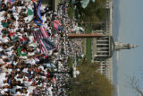Thousands attend a We Are America/Somos America rally at the Capitol grounds after a pro-immigrant...
