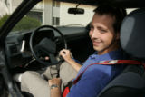 In Highlands Ranch, Colo. 5.09/06, Tyler DeWeese, (cq) 23, is a safe driver in a high-risk...