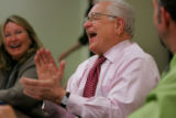 Former Colorado Governor Roy Romer, now the superintendant of the Los Angeles Unified School...