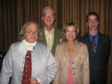 Colorado Endowment for the Humanities - From left, Christoper Lowell portraying Ben Franklin;...