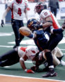 Denver, Colo., photo taken April 3, 2005- Colorado Crush, offensive specialist, Damian Harrell (cq...