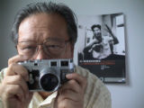 Self Portrait of Li Zhensheng, New York City, August, 2003. 2003 © LI Zhensheng/CONTACT PRESS...