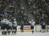 JPM347   The Mighty Ducks of Anaheim  Joffrey Lupul silences Colorado Avalanche fans on his third...