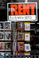 A For Rent sign hangs in the window of Jones Drug in Boulder Tuesday, April 25, 2006. Jones Drug...
