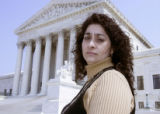 3/18/05Washington ,DC-Jessica Gonzales --Jessica Gonzales brought a lawsuit against the Castle...