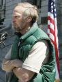 Frosty Wooldridge(cq) from Louisville, CO  speaks during a rally for Defend Colorado Now (DCN)...
