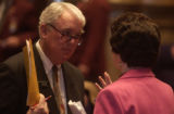 Denver, Colo.-March 23,2005- L to R: Sen. Jim Dyer (cq R-Arapahoe County) and Sen. Norma Anderson...