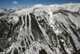 "Snowmass Cirque, featured in ""Aspen Ski and Snowboard Guide"", a new book from Wolverine..."