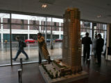 A model of the new Four Seasons Hotel was on display, Tuesday afternoon, April 24, 2007, at a...