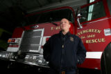 DLM3792  EverGreen Fire Chief Joel Janov at Evergreen Fire Rescue Station 2 in Bergen Park, Colo....