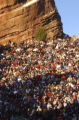 (Morrison, Colo., shot on 3/27/05) Thousands gather to the 58th annual Easter Dawn Service at Red...