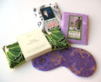 Soak: Let mom soak her cares away with Jane Inc. Herbal Dream Pillow, $17.50; Momzilla Stress...