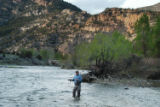 A lone fly fisher will be a rare sight on the Arkansas River this weekend. With warm weather...