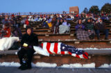 (Morrison, Colo., shot on 3/27/05) Mary Heathman, 58, (cq left) of Denver, Colo., sits with her...