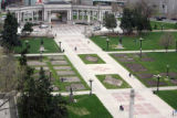 View of the Civic Center Park  on Thursday April 25,2007.New vision plan for downtown Denver will...