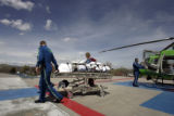 AirLife Denver transported patient Harriette Diven from Douglas County to Swedish Medical Center...