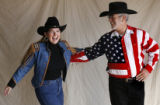 Best Dancing Couple.  Littleton residents Loretta Johnson and Tom Quinlan, ballroom dancing...