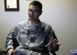Col. John Cho (cq), a surgeon  and Commander of Evans Army Community Hospital at Fort Carson in...